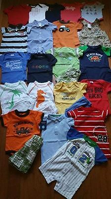 Baby boy summer clothes LOT 3-6 months  21 complete OUTFITS