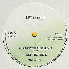 Alert The Press - Voice Of The Misterons - Ruby Red Records - 1990 #749610