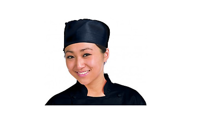 Chef Revival H008-R Regular Black Pill Box Hat New in Package