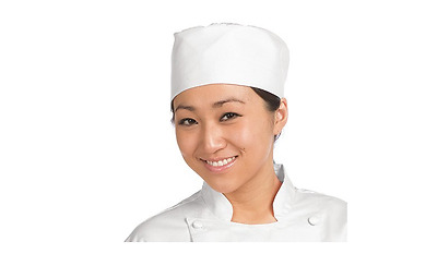 Chef Revival H002-R Regular White Pill Box Hat New in Package