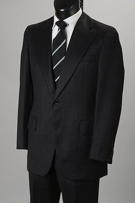 Classic 1970's Martin Green London Tailored Charcoal Grey Lounge Suit.  ref PJV