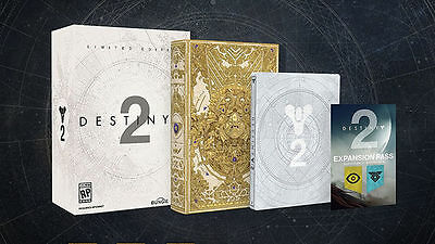 Destiny 2 Limited Steelbook Edition ps4