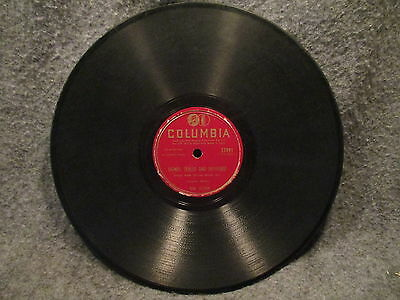 """78 RPM 10"""" Record Bob Atcher Mountain Maw & Signed Sealed Columbia Records 37991"""