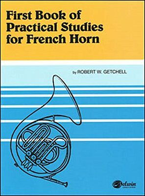 First Book of Practical Stuides for French Horn (Robert W. Getchell) | Alfred Pu