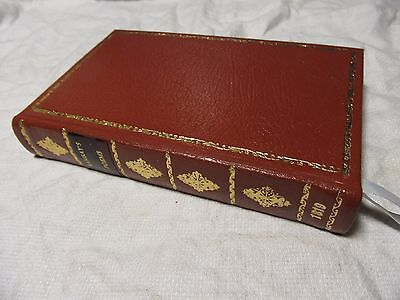 1819 The POEMS of ALLAN RAMSAY - Leather Bound Volume