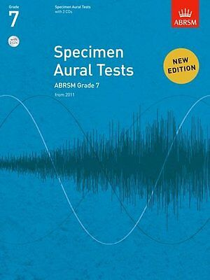 Specimen Aural Tests, Grade 7 with 2 CDs: new edition from 2011 (Divers Auteurs)