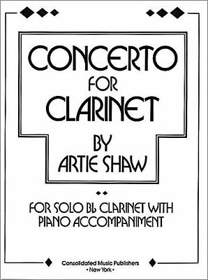 Concerto for Clarinet (Artie Shaw) | Campbell Connelly