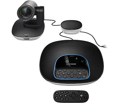 Logitech GROUP Video Conferencing System - 10x, 1080p, 30 Fps, H.264, 130 Mm, 17
