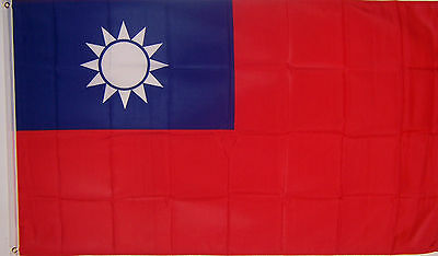 NEW BIG 2x3 ft TAIWAN TAIWANESE  BANNER FLAG