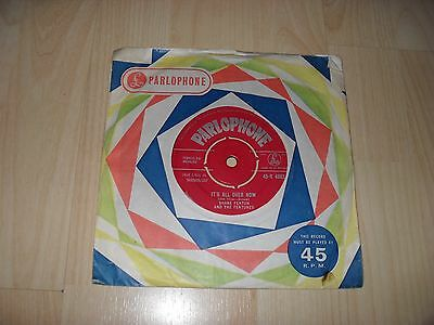 "Shane Fenton - It's All Over Now (Uk 1962 7"" Inch Single) Parlophone R 4883"
