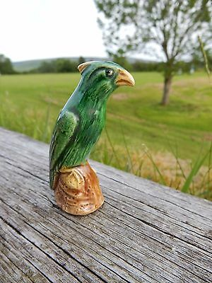 Pottery Unusual Early Glazed Bird  Annotated 264 On Base   ,Maker ? Bird Type?