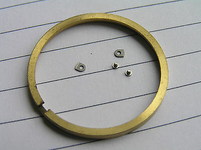 omega  movement spacer ring and clamps.... 1020 dia31.50mm