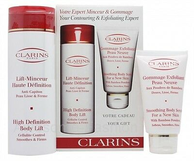 Clarins Gift Set 200Ml High Definition Body Lift Cellulite Control Cream + 75Ml