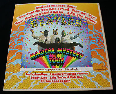 "The Beatles ""magical Mystery Tour"" Mono Original 1St. Rare! Near Mint!"