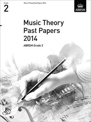 Music Theory Past Papers 2014, ABRSM Grade 2 (Divers Auteurs)   OUP Oxford
