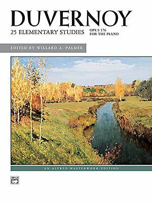 Duvernoy 25 Elementary Studies, Op. 176 | Alfred Pub Co