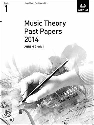 Music Theory Past Papers 2014, ABRSM Grade 1 (Divers Auteurs)   OUP Oxford