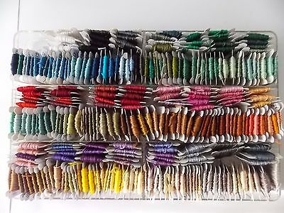 265 Cards  of  Embroidery Thread/Floss Many Colors