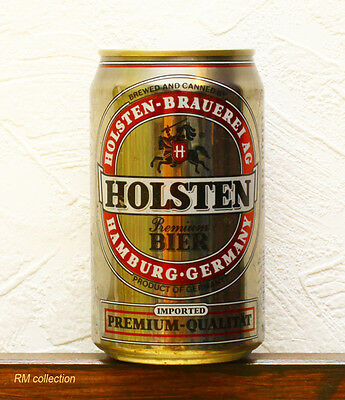 Holsten 1990s beer can empty