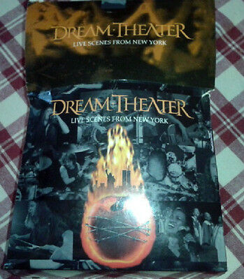 Dream Theater‎ - Live Scenes From New York 3CD The Simpsons T-Shirt LTD Box Set