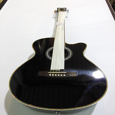 Ebay Item - Martin Smith Black Electro-Acoustic Guitar - Imperfections