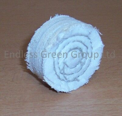 """2"""" Cotton Buffing Wheel 50mm x 20mm Polishing Mop ideal for cordless drill C50/2"""