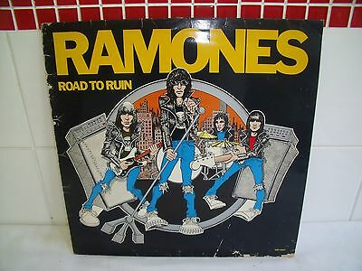 Ramones ~ Road To Ruin ~ Yellow Vinyl Record Lp ~ Limited Edition Uk 1St Press ~