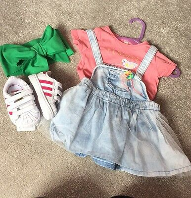 Baby Girl Clothes 3-6 Months Billy Blush.