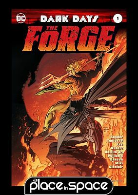 Dark Days: The Forge #1B - Kubert Variant (Wk24)