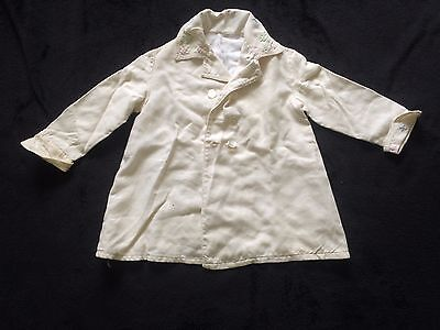 Edwardian little girl's white coat, early 1900's