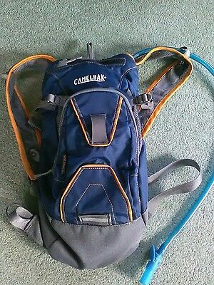 Camelbak Mini Mule Hydration Back Pack.Blue.Cycling/ Walking/Hiking