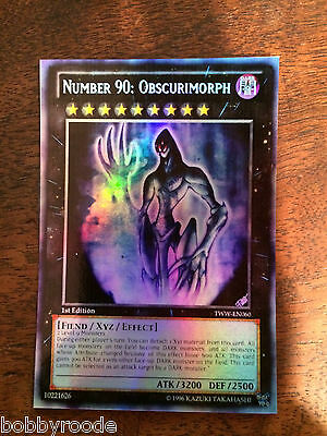 Yu Gi Oh Number 90 Obscurimorph Numero 90 Oscurimorfo Foil Orica