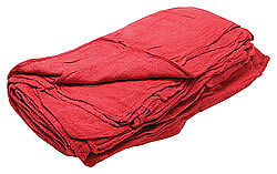 Allstar Performance Shop Towels Red, 25 Count Bag
