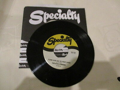 """Gospel """" Sam Cooke / The Soul Stirrers """" Come And Go To That Land """"  7"""" Single"""