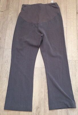 Mothercare Maternity Over Bump Work Trousers Size 12 Leg 29