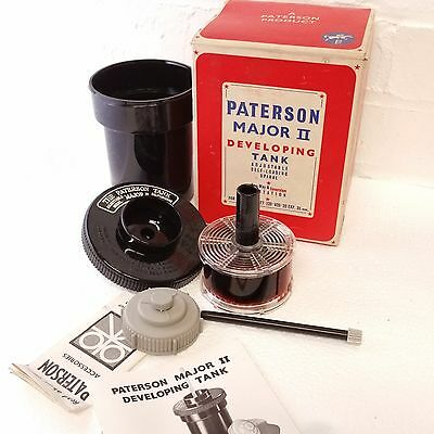 paterson major 2 developing tank. Vintage. Good condition.