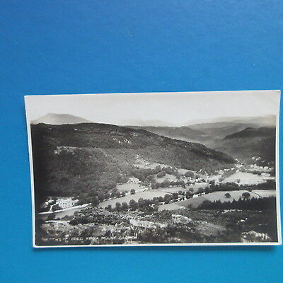 Old Postcard of Bettws-y-Coed from Mount Garmon.