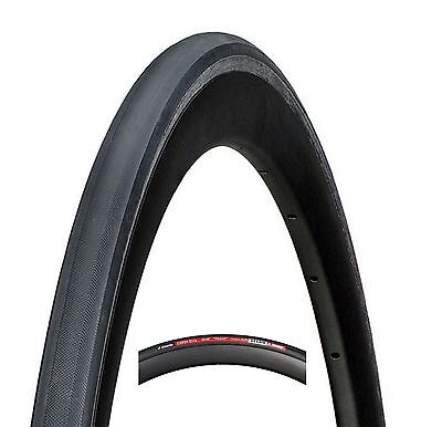 "1x Vittoria Corsa Elite Tubular Road Bike Tire 23-28""mm Full Black Tyre"