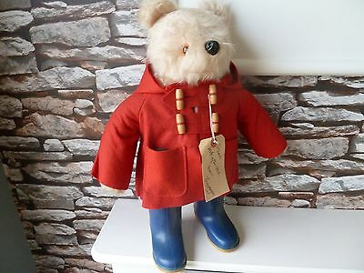 CLASSIC / VINTAGE : PADDINGTON BEAR with DUNLOP BOOTS (5) 1974 and TAG Gabrielle