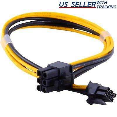 Mini 6-pin to 6-pin PCI-e PCIe Power Cable for Apple Mac Pro Video Card