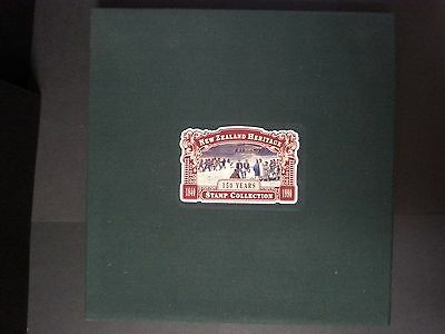 1990 New Zealand Heritage Stamp Album Limited Edition with all stamps & FDC's