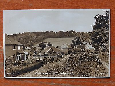 Frith's photographic postcard: Chinthurst Hill, Wonersh, Surrey
