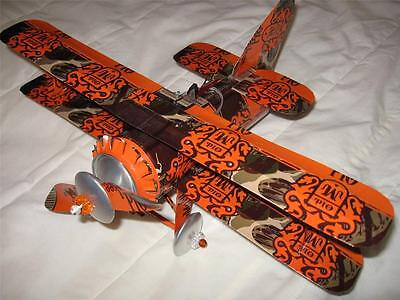 Old Milwaukee Beer Can Airplane - Handcrafted-Wind Spinner- Airplane