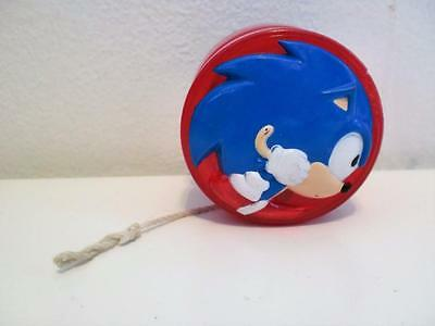 Rare Vintage Sega Sonic The Hedgehog Figure Spinball Light Up Toy Yo Yo 1990s