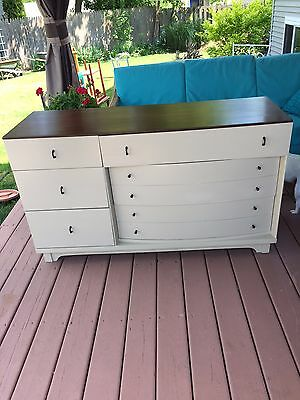 Mid-Century Modern Dixie Sideboard, Credenza,  Media Console. Newly restored!