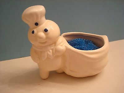 Pillsbury Poppin' Fresh Scouring Scrubby Pad Holder 1988  4 1/2 inches tall