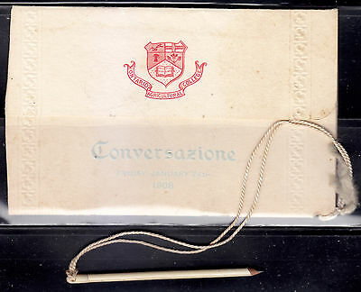 Ontario Agricultural College At-Home Conversazione, Jan. 24, 1908