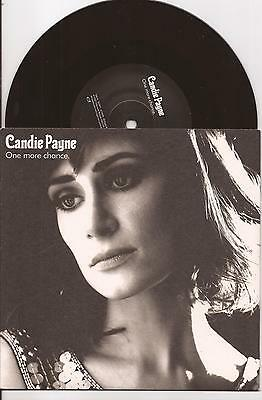 "Candie Payne ""One More Chance"" 7"" Vinyl Single Picture Sleeve Indie"