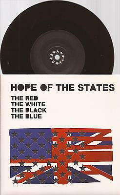 "Hope Of The States ""The Red The White"" 7"" Vinyl Picture  Sleeve 2004"