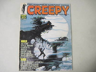 Creepy #23 Warren Horror Magazine 1968 Tom Sutton Cover